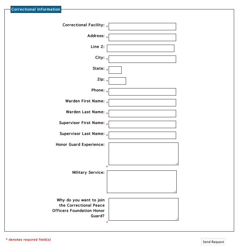 CPOF Custom Form